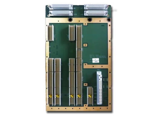 EPS-CPCIBP–6U2S8S-cPCI,dual segment backplane for rugged conduction cooled Ground Mobile system
