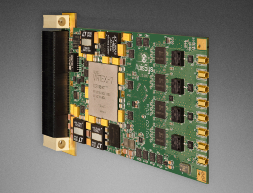 3U VPX Virtex 7 FPGA Quad 12 bit 4.0 Gsps ADC Conduction or Air-Cooled AV121