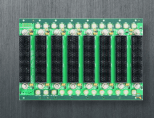 VPX 6216 – 5-Slots of Vita 46.1 VPX on 1