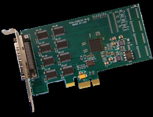 PCIe-COM232-8 & PCIe-COM232-4